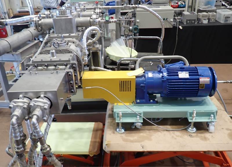 二軸連続式乾燥機「SCPD」